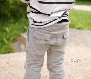 lange Taschenklappenhose - Größen 104 bis 140