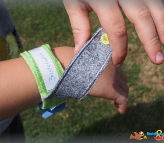 ITH Stickdatei - Notfallarmband für Erwachsene und Kinder - 16x26