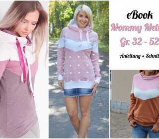 Ebook Damen Hoodie Mommy Melian Gr 32 - 52