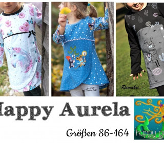 Ebook  - HAPPY AURELA  Tunika Gr. 86 - 164  von Happy Pearl