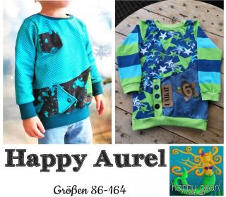eBook  - HAPPY AUREL  Pullover  für Jungs Gr. 86 - 164  von Happy Pearl