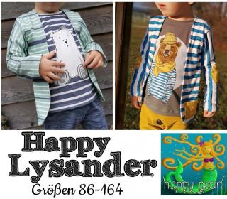 eBook  - HAPPY LYSANDER  Shirt mit Fake-Jacke  für Jungs Gr. 86 - 164  von Happy Pearl