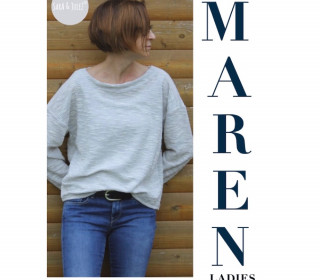 eBook - 30 Minuten Oversize Shirt MAREN ladies
