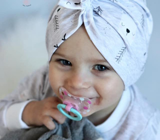 eBook - Turban Fiori 39-60 FunkelRosa