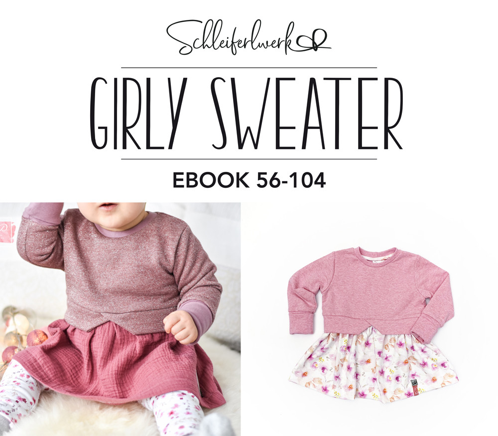 eBook Girly Sweater - Größe 56-104