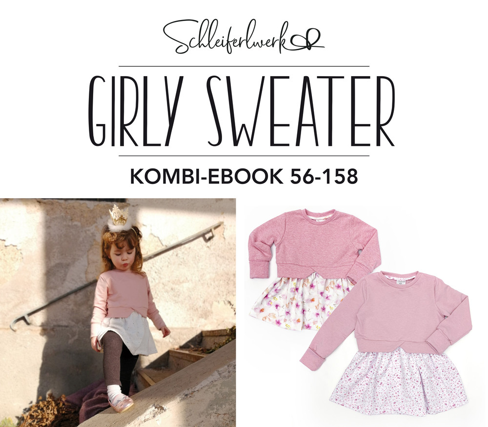 Kombi-eBook Girly Sweater - Größe 56-158