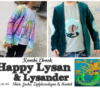 Kombi Ebook  - HAPPY LYSAN + LYSANDER Gr. 86 - 164  von Happy Pearl