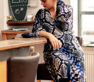 Kimonokleid Ainhoa