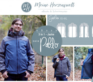 # 83 eBook - sein PABLO - 3in1Jacke-Softshelljacke - XS-4XL
