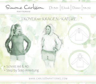 D1301 Troyer Ebook - Carlsson Patterns - Damen