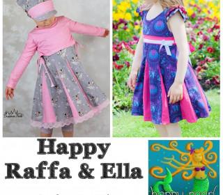 Ebook  - HAPPY RAFFA & ELLA  Gr. 86 - 164  von Happy Pearl