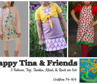 Ebook  - Happy Tina & Friends großes Set Gr 74-164 von Happy Pearl