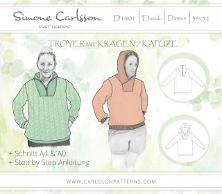 D1301 Troyer Ebook - Carlsson Patterns - Damen