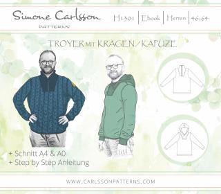 H1301 Troyer Ebook - Carlsson Patterns - Herren