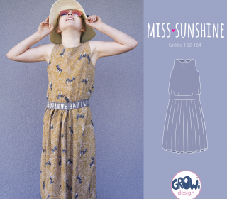 Miss Sunshine Sommerkleid by GroWidesign