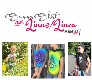 E-Book Sommershirt Little Linus/Linea Größe 80-164