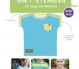 eBook - Shirt Stranden Gr. 110-152