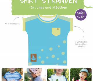 eBook - Shirt Stranden Gr. 56-104