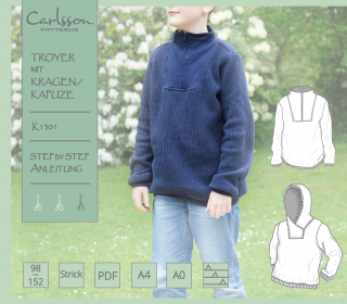 K1301 Troyer - Carlsson Patterns - Kinder