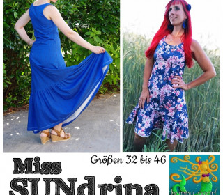 eBook - Miss SUNdrina Kleid Maxikleid Gr 32-46 von Happy Pearl