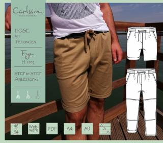 FYN H1203 Hose - Carlsson Patterns - Herren