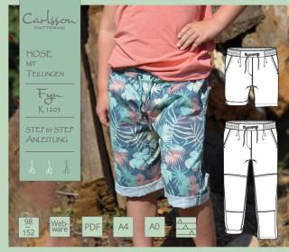 FYN K1203 Hose - Carlsson Patterns - Kinder