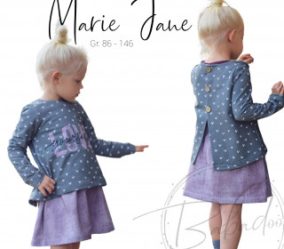 Marie Jane  Kleid / Shirt / Cardigan Gr. 86 - 146