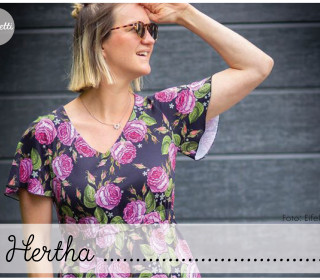 Hertha - Damenkleid Gr. 32-50 (Konfetti Patterns)