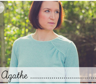 Agathe - Pullover für Damen Gr. 34-50 (Konfetti Patterns)