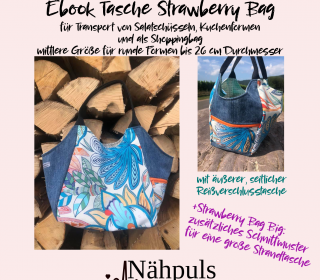 Ebook Tasche Strawberry Bag