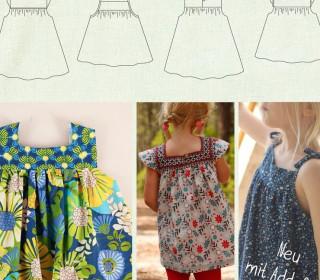 Mädesüß: Top & Tunika für Mädchen Gr. 68 – 164