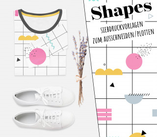 Freebie - Shapes - Siebdruck Vorlagen