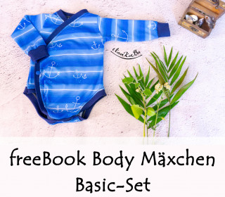 freeBook Basic-Set Body Mäxchen Gr. 44-110