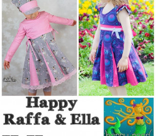 Ebook  - HAPPY RAFFA & ELLA  Gr. 86 - 164  von Happy Pearl