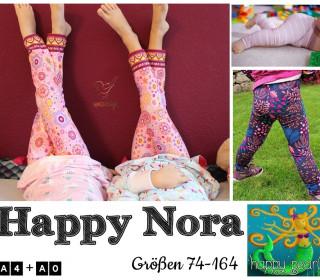 eBook HAPPY NORA Leggings Gr 74-164 von Happy Pearl
