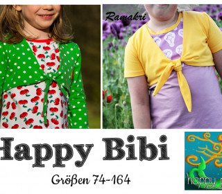eBook HAPPY BIBI Bolero Gr 74-164 von Happy Pearl