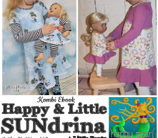 Kombi eBook  – HAPPY SUNdrina + LITTLE SUNdrina  von Happy Pearl