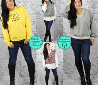 Ebook Pullunder/Sweater SCHENNA Gr. 34-56  inkl. BEAMERDATEI
