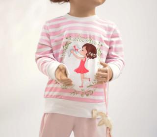 Kinderschlafanzug Anna + Rüdiger Gr. 80-170 Nähanleitung + Schnittmuster