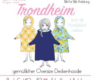 """Hoodiedecke """"Trondheim"""" für Damen, Herren und Kinder"""