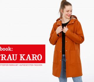 e-book FRAU KARO - gefütterter Parka XS-XXL