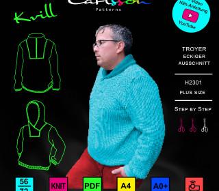 KVILL H2301 - Troyer - Plus Size 56-72 - CarlssonPatterns