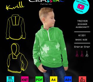 KVILL K1301 - Troyer - Kinder - Size 86-164 - CarlssonPatterns
