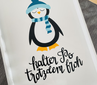 Plottergrafik | Pinguin