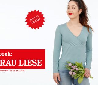 e-Book FRAU LIESE -  Langarmshirt XS-XXL