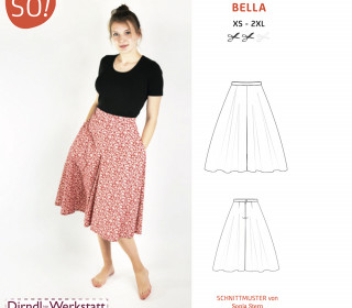 Ebook - Hosenrock BELLA von SO Pattern / XS - 3XL