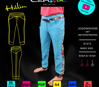 HALIN K1213 Jogginghose Kinder 86-164 Carlsson Patterns