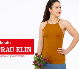 e-book FRAU ELIN - Sommertop mit Spaghettiträgern  XXS-L