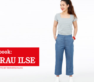 e-book FRAU ILSE - Culotte mit REißverschluss XS-XXL