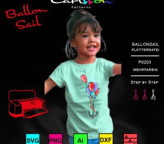 P0203 Ballon Sail Plott - Carlsson Patterns
